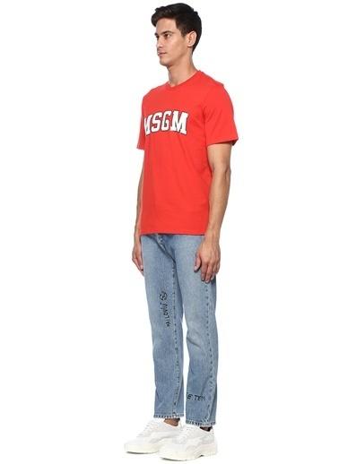 Msgm Tişört Kırmızı